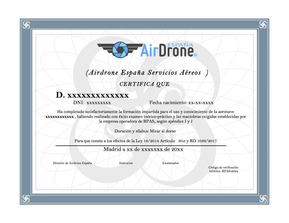 Certificado  práctico